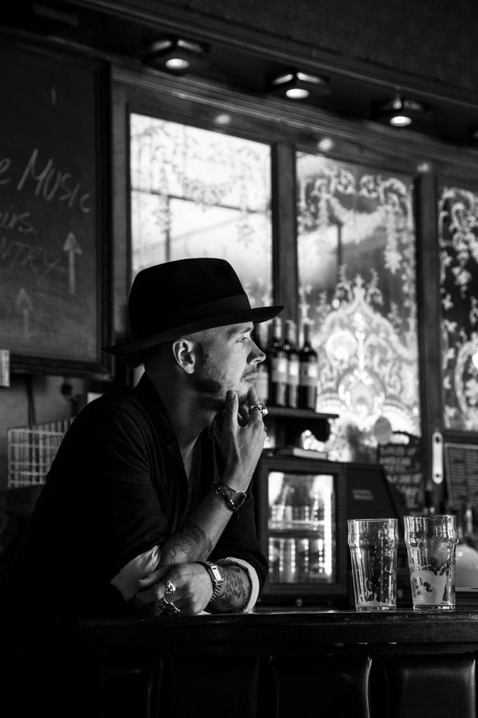 Rodin's bartender