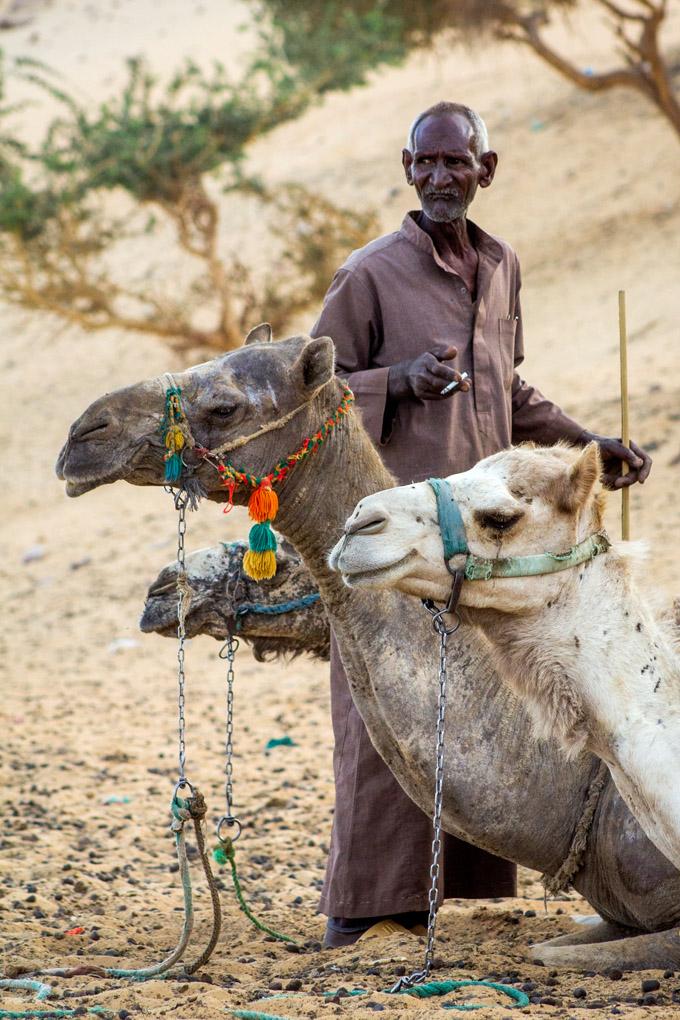 Camel Keeper - Aswan, Egypt