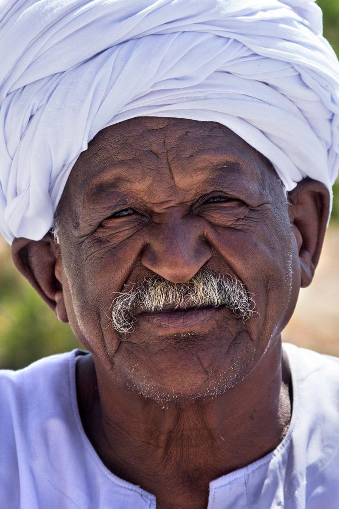 Street vendor at Aswan, Egypt
