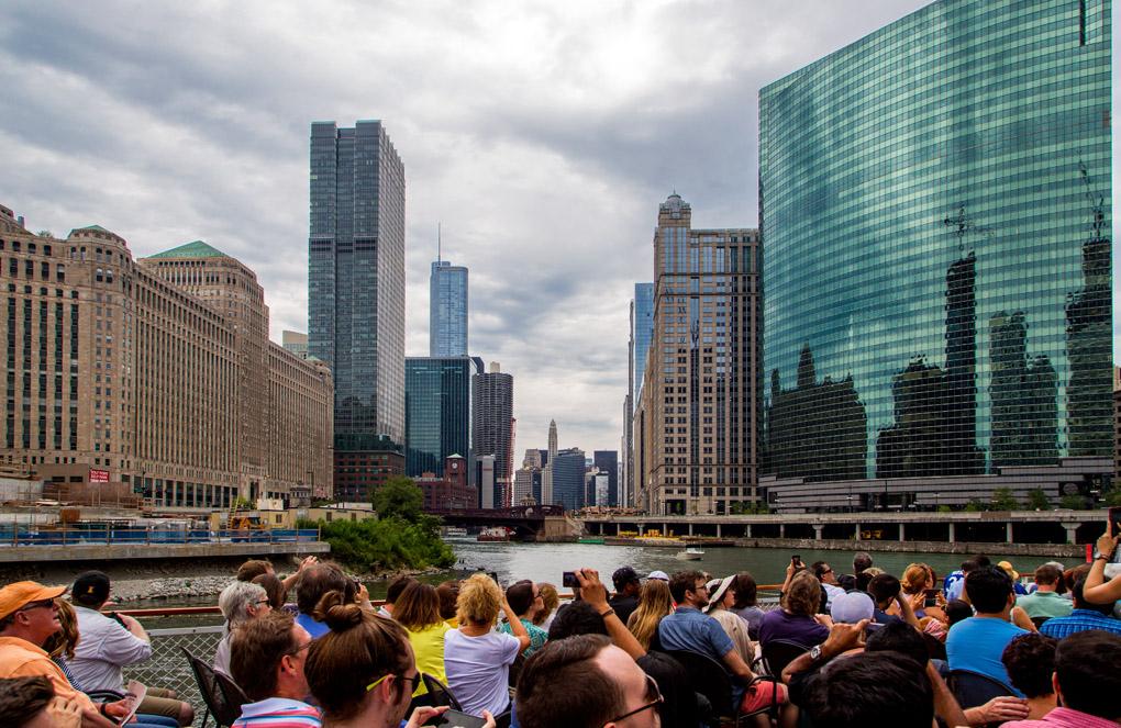 Boat Trip - Chicago, USA