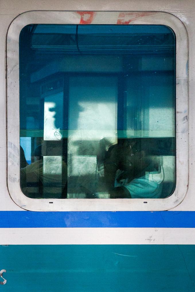 Morning passengers - Corsica, France