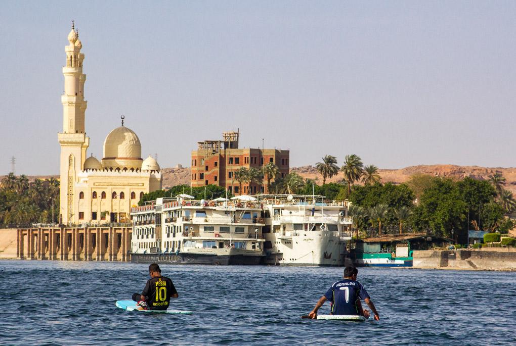 Messi & Ronaldo - Aswan, Egypt