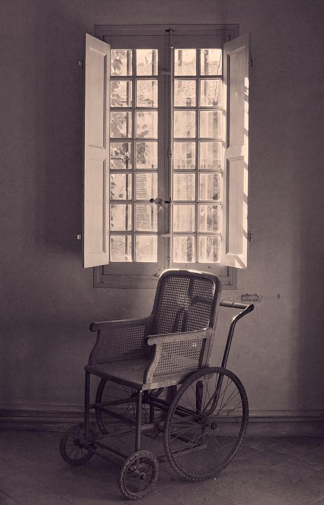 Van Gogh's asylum, Saint-Rémy-de-Provence, France
