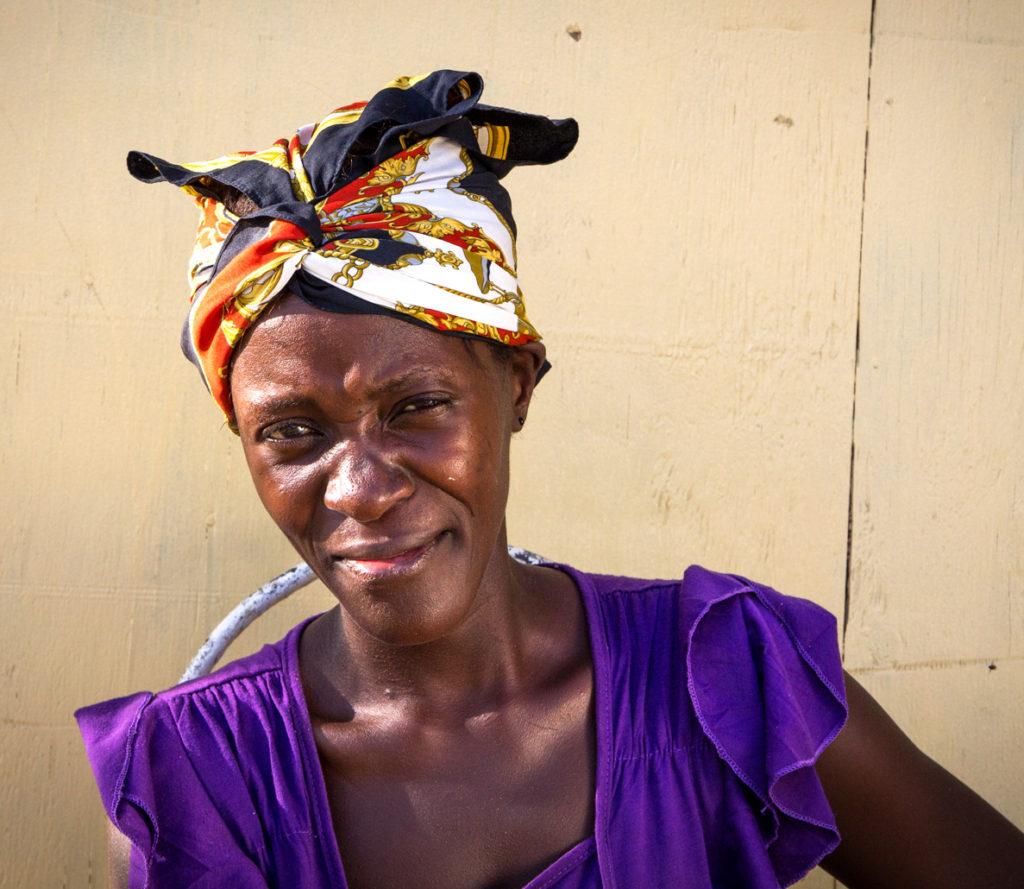 Street style - Duclos community, Haiti