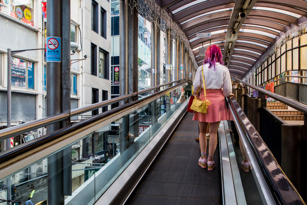 The era of Escalators - Hong Kong