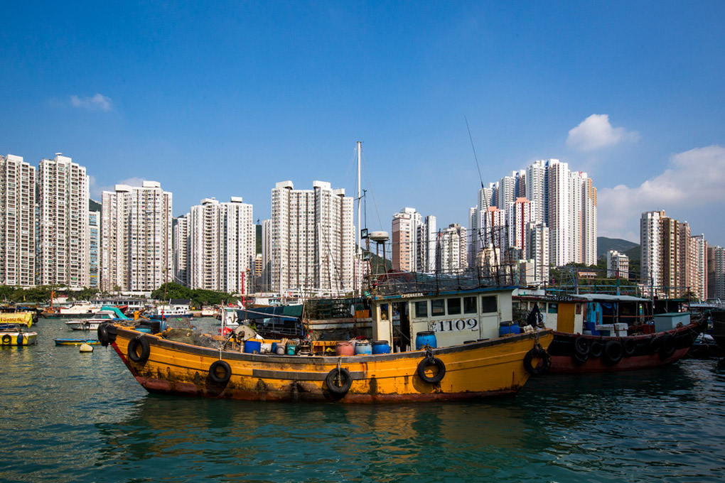 Aberdeen Harbour, Hong Kong