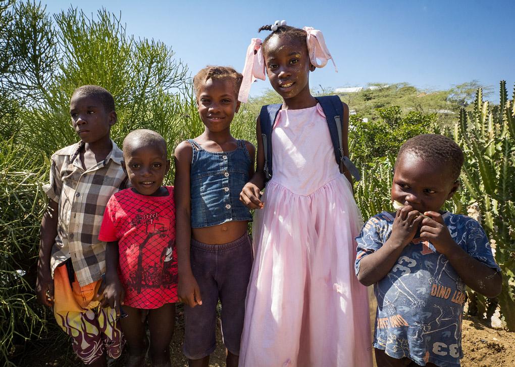 Duclos community in Haiti