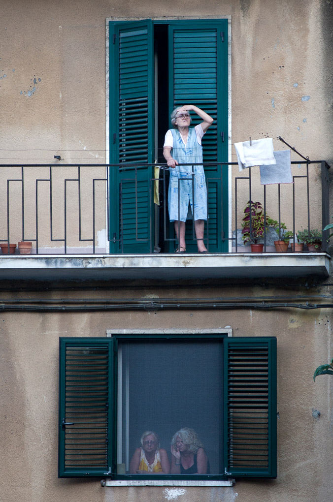 Neighbors - Taormina, Sicily