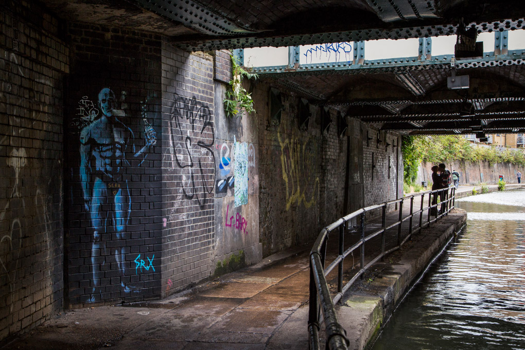 Under a bridge - London, UK