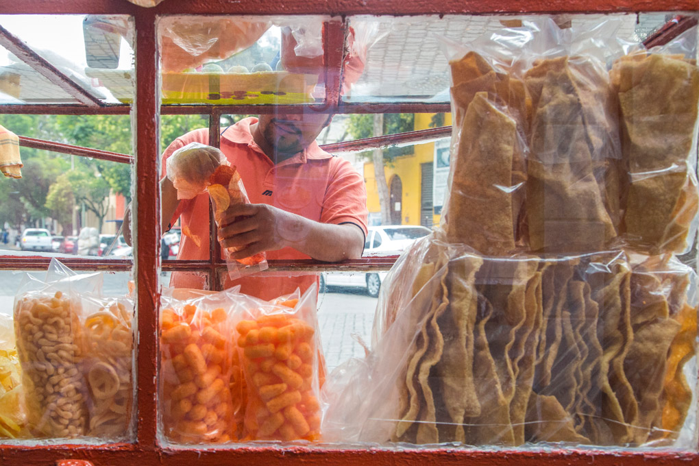 Orange Yummy - Coyoacan, Mexico