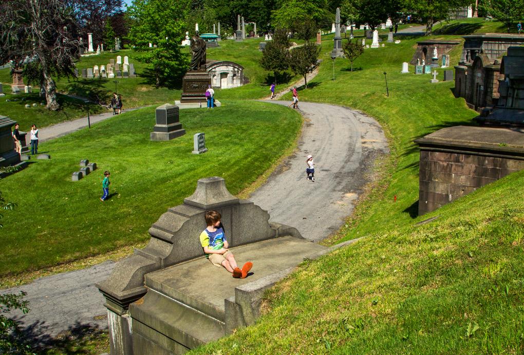 Hide & Seek - Greenwood Cemetery, New York, USA