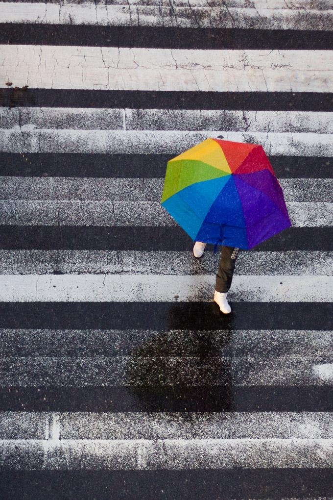 Somewhere under the rainbow - New York, USA
