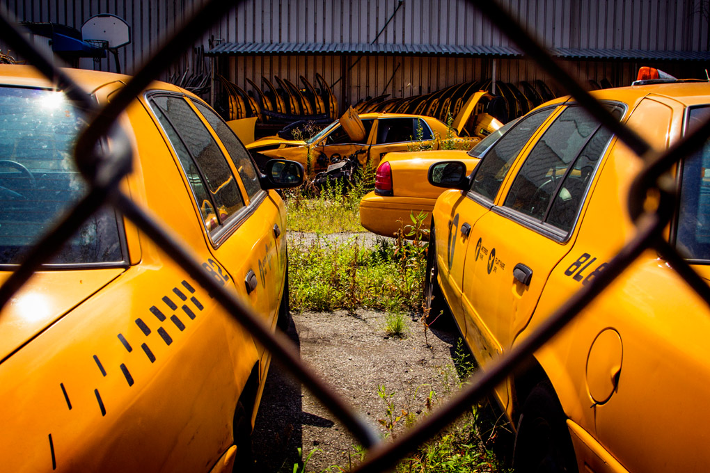 Taxi Cemetery - New York, USA