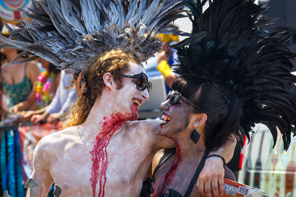 Dark Lovers - New York Mermaid Parade, USA