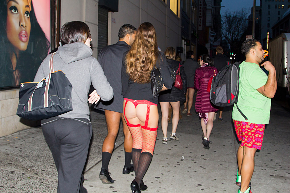 No Pants Day - New York, USA
