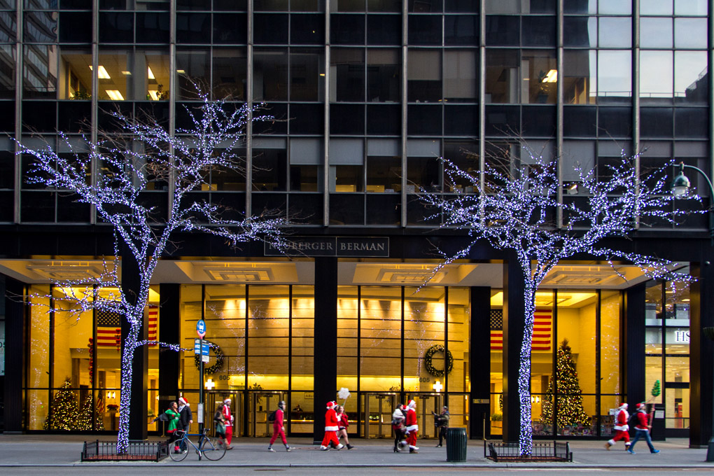 Santa Claus is coming to town - New York, USA