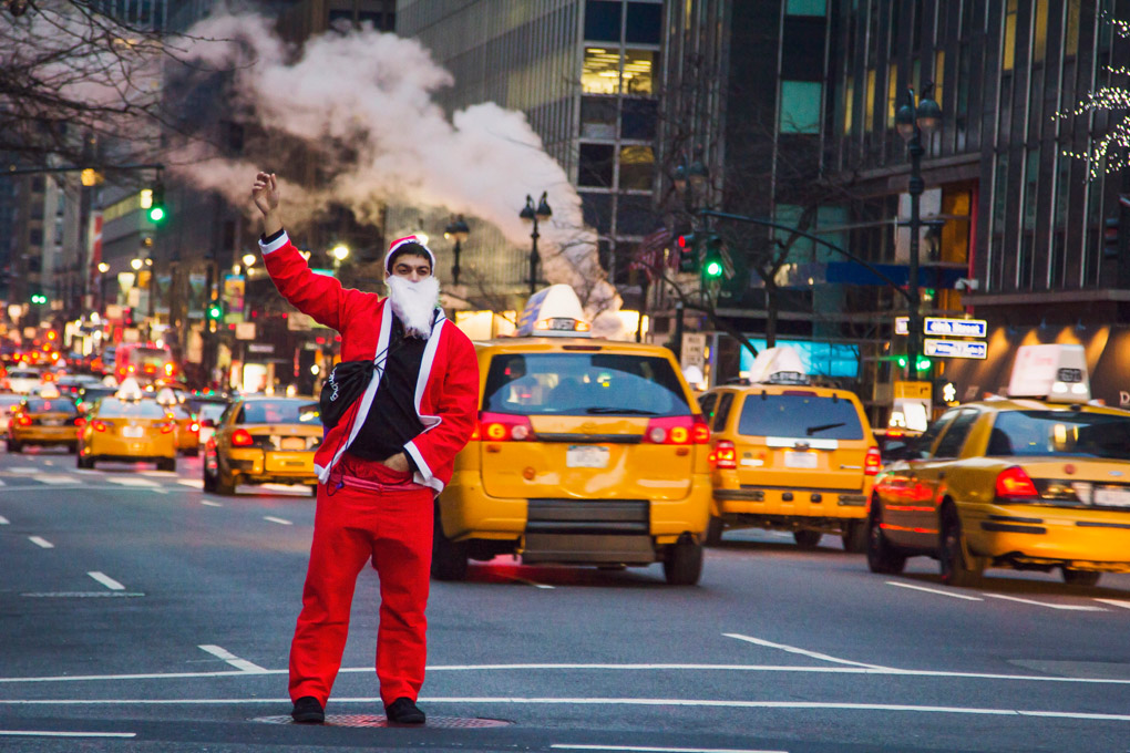 Bad Santa - New York, USA