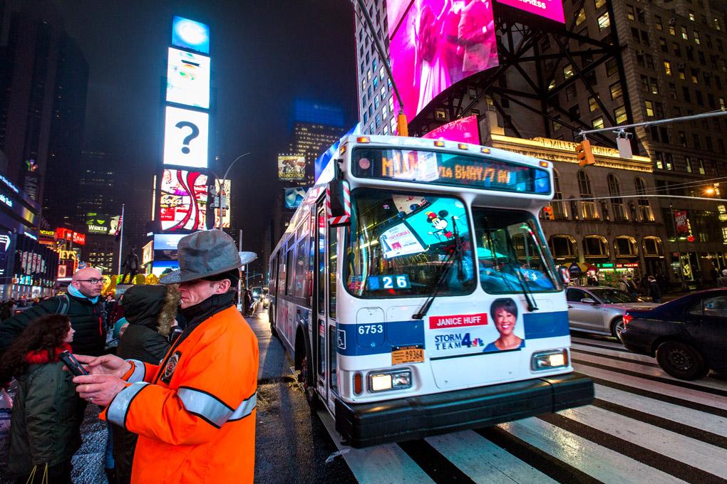 Time Square Guardian  - New York, USA