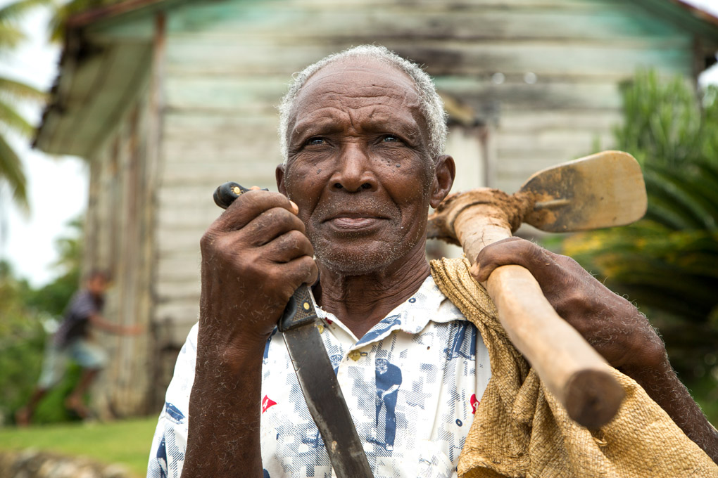 Proud Farmer - Samana, Dominican Republic