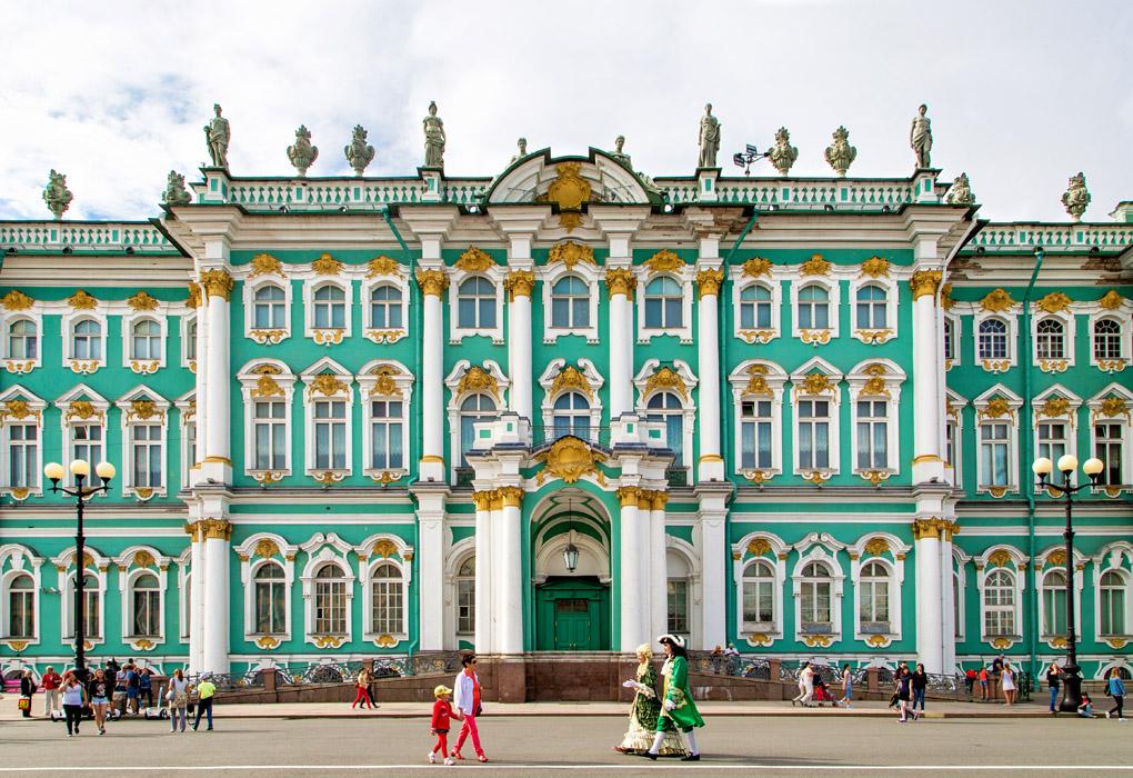 Royal Greeting - Saint Petersburg - Russia