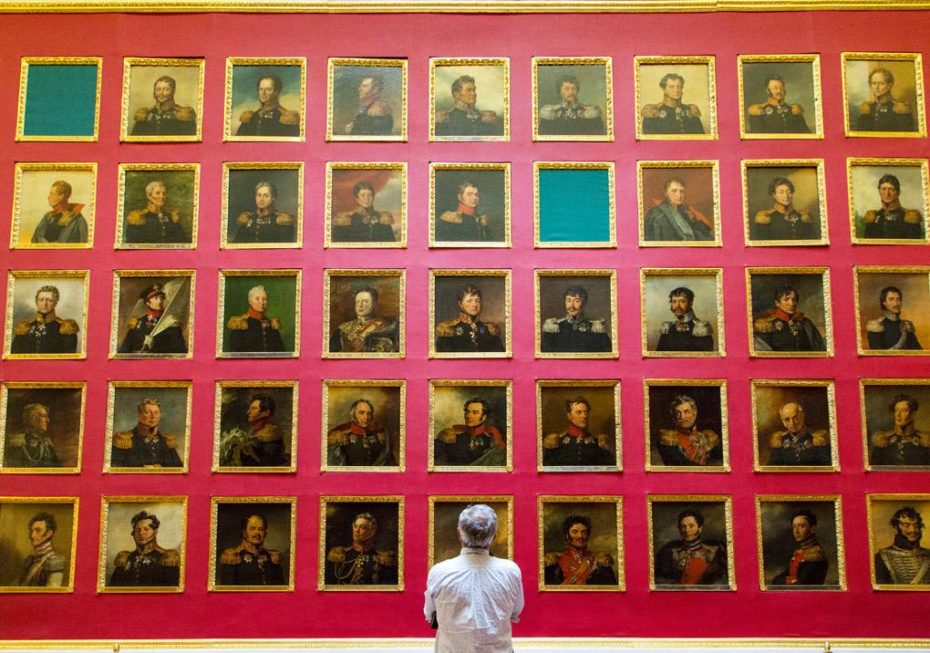 Hermitage Museum, Saint Petersburgo, Russia