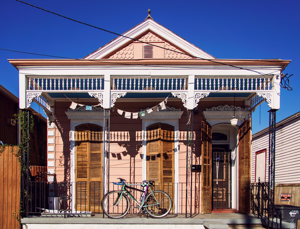 Marigny, New Orleans, Louisiana, USA