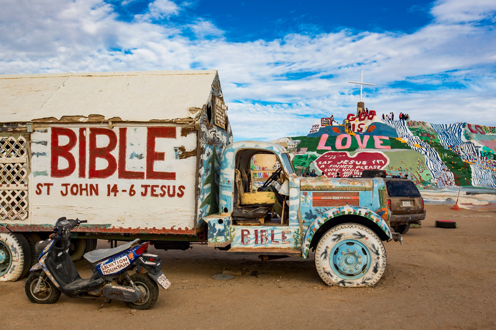 Salvation Mountain, California, USA