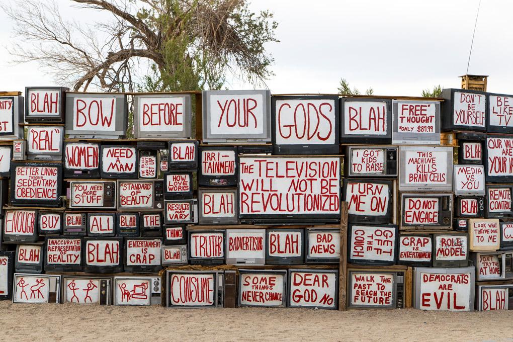 East Jesus, Salton Sea, California, USA
