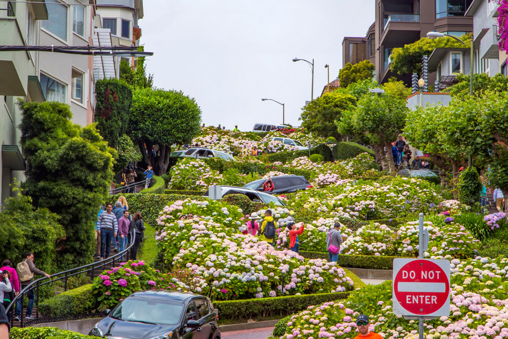 Lombard Street - San Francisco, USA