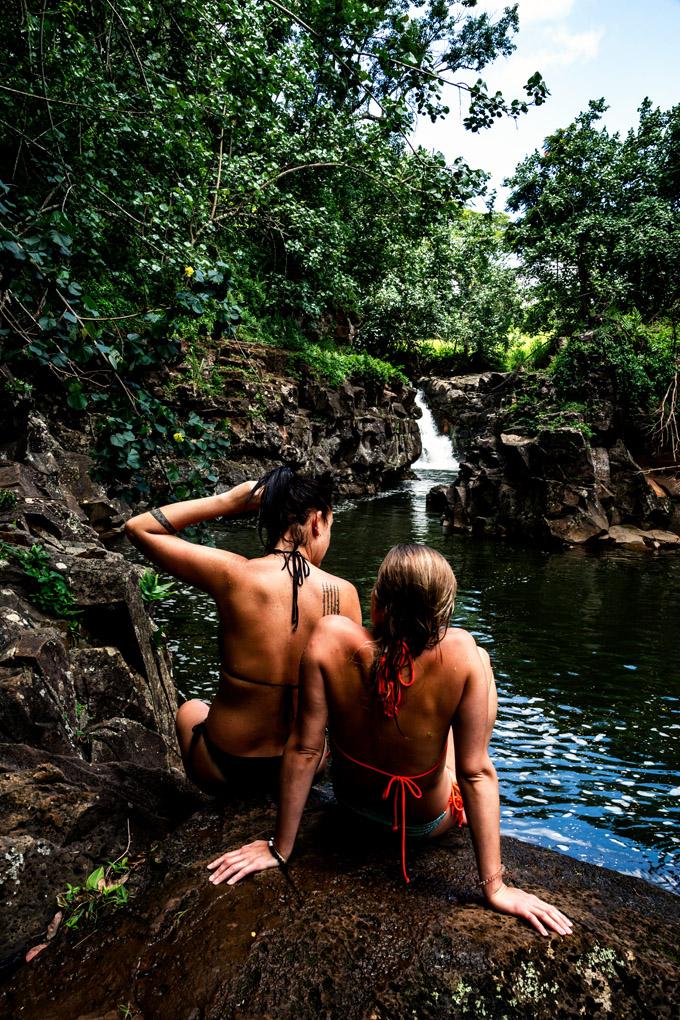 Hoopi'i Falls, Kauai, Hawaii