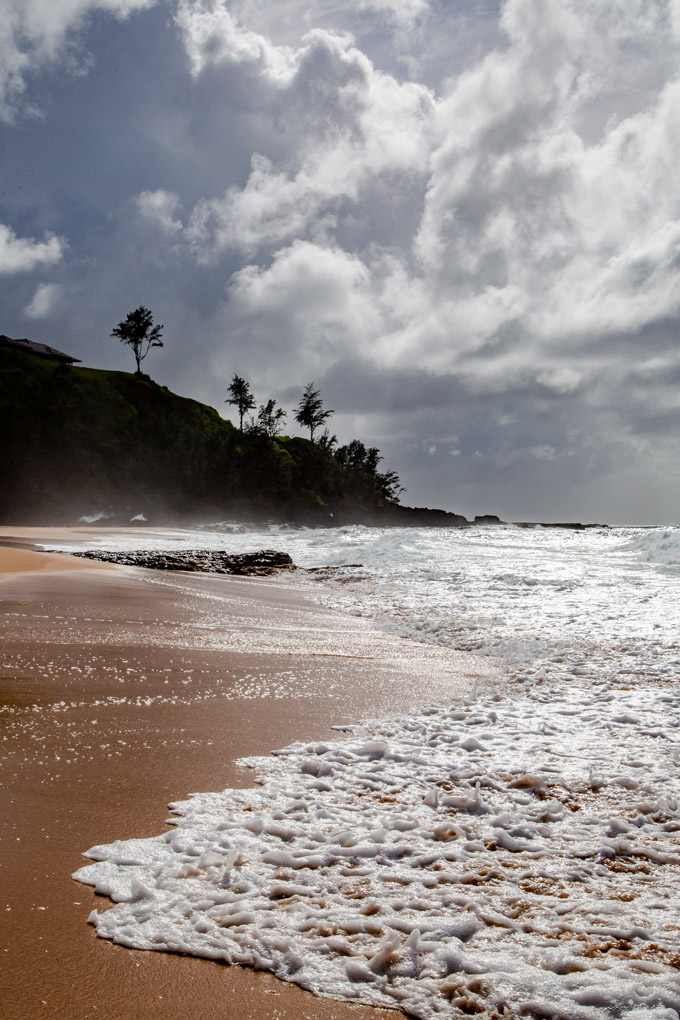 The Secret Beach, Kauai, Hawaii