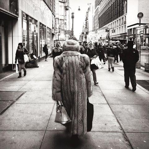 The Fur Coat - New York, USA