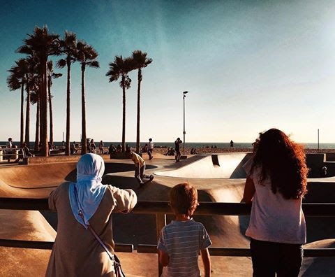 Venice skatepark - Los Angeles, California, USA